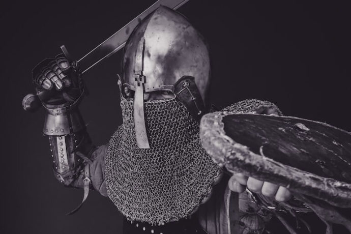A knight preparing to defend your PPC account.
