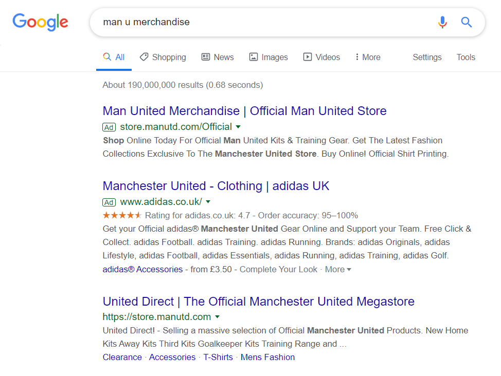 Adidas - Analyse A Real PPC Campaign