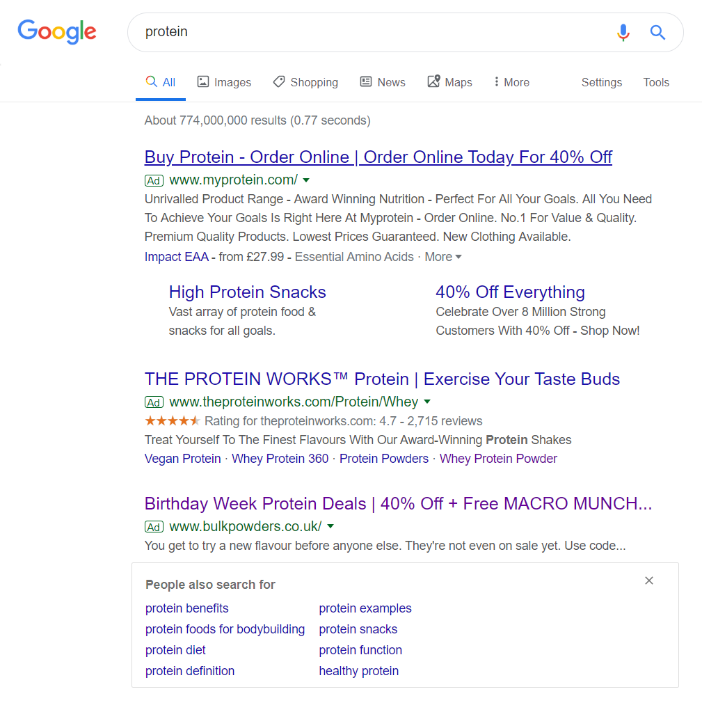 Bulk Powders - Analyse A Real PPC Campaign