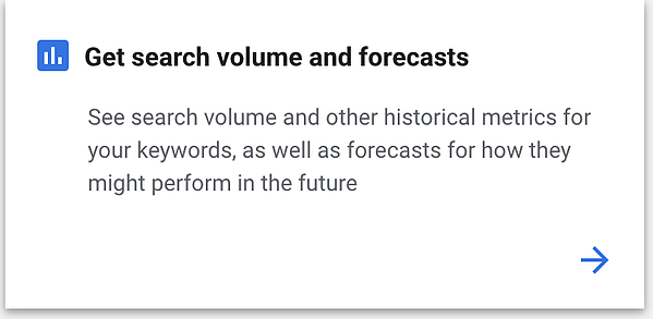 Google keyword planner can help with PPC keyword volume research.