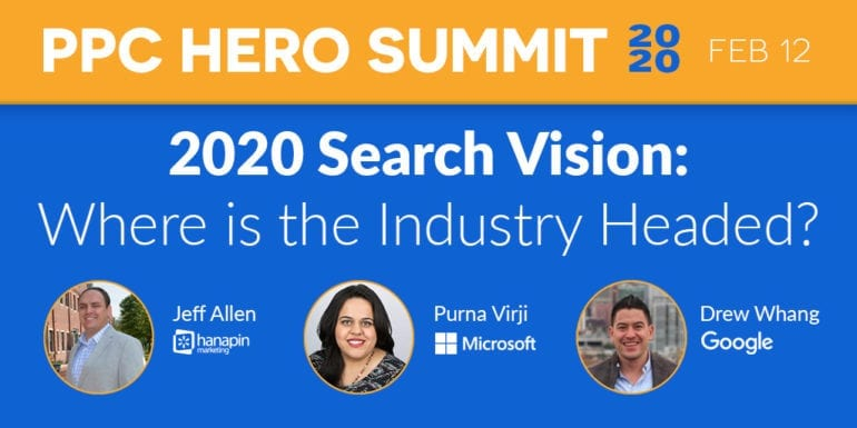 2020 PPC Hero Summit Features Google, Microsoft, and Taboola