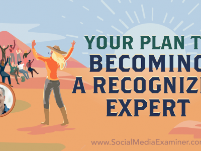 Becoming Well-Known: Your Plan to Becoming a Recognized Expert : Social Media Examiner