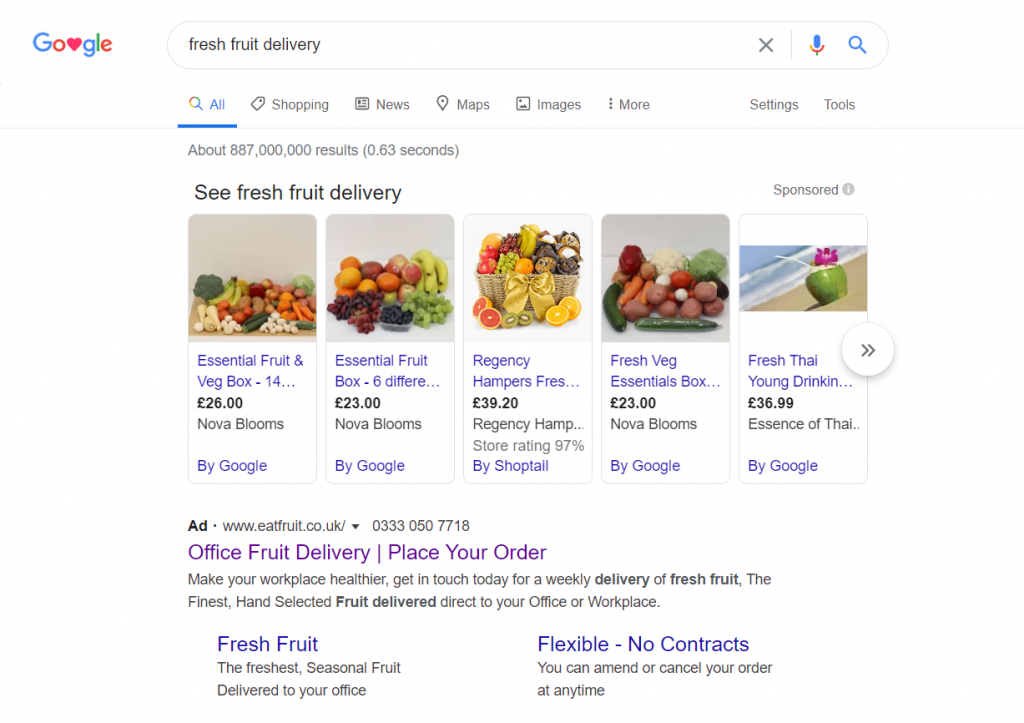 Eat fruit - Analyse A Real PPC Campaign
