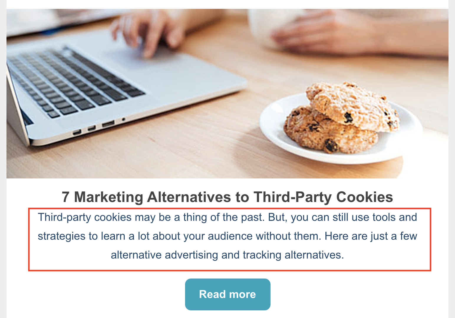 third-party cookies meta description