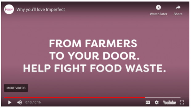 Imperfect YouTube ad