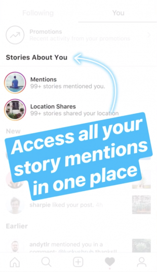 Access all your story mentions in one place