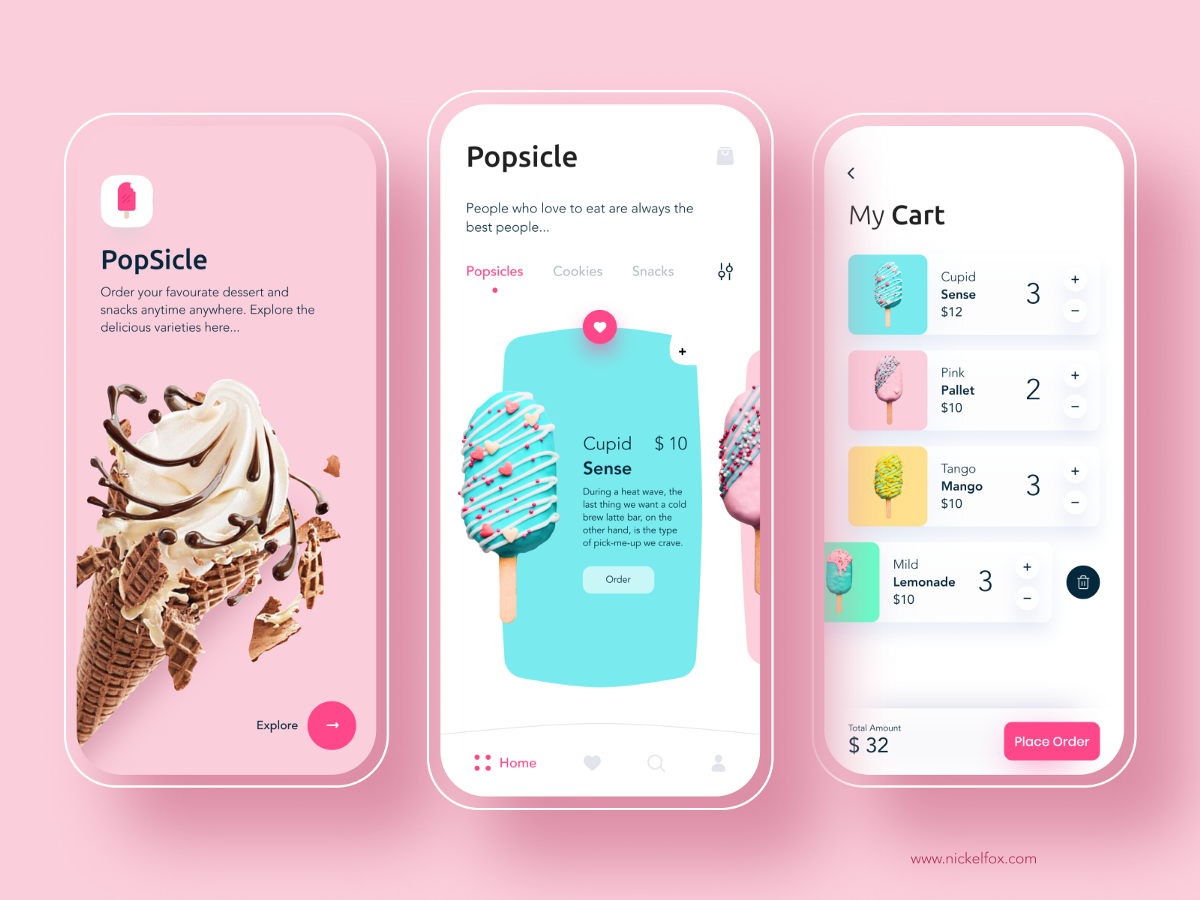 How to Use Color As a Way to Build Amazing App Composition | by Olha Bahaieva | Jul, 2020