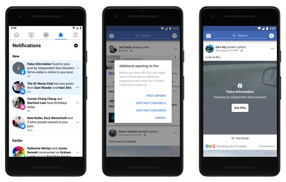 Facebook and Reuters partnership fact-checking service