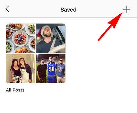 someone's instagram settings to find saved posts