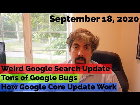 Confusing Google Search Fluctuations, Many Google Bugs & How Google Core Updates Work