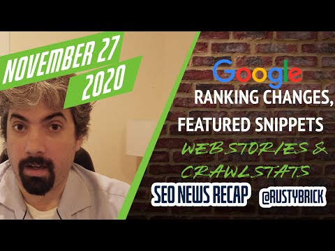 Google Ranking Fluctuations, Featured Snippets With Augmented Links, Google-Generated Web Stories Deindexed & New Crawl Stats