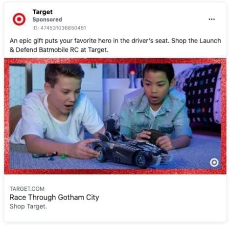 target ad for kids toy