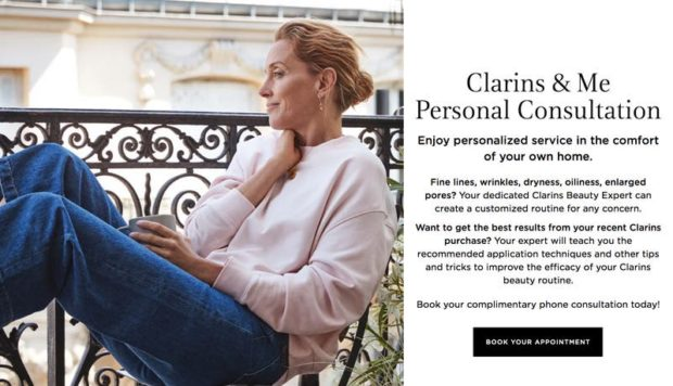 Beauty brand Clarins' Clarins & Me personal consultation campaign became a big success