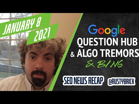 Google Question Hub Expands, Bing Webmaster Tools Crawl & Index Data & Google My Business Performance Reports