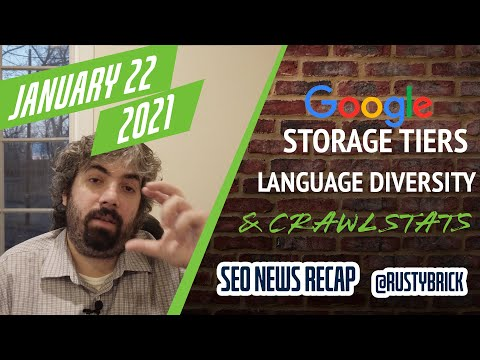 Google Search Indexing Storage Tiers, Language Diversity & Paying Bloggers