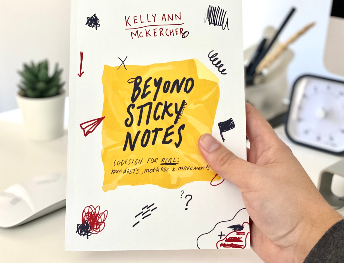 Beyond sticky notes: co-design for real - Book Notes