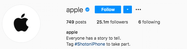 apple brand everyone has a story to tell