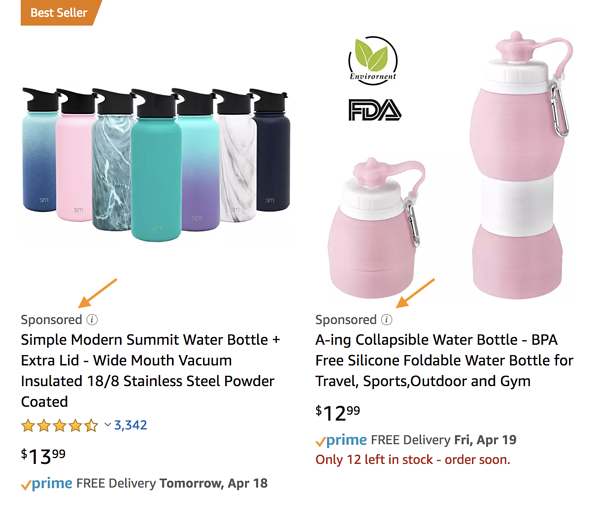 What is Amazon Advertising sponsored product ads
