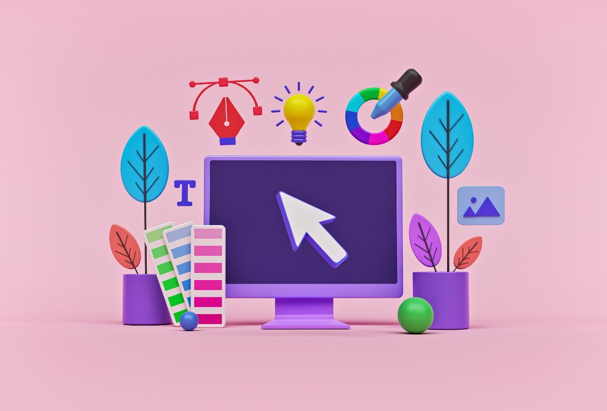 7 visual elements of design. and how to use them in digital design   by Monica Galvan   May, 2021