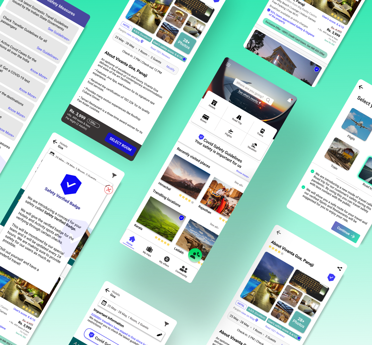 Safe travel for Holidays — a UX Research case study   by Hariharan V   May, 2021