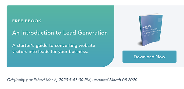 an offer given at the end of a hubspot blog post related to the offer