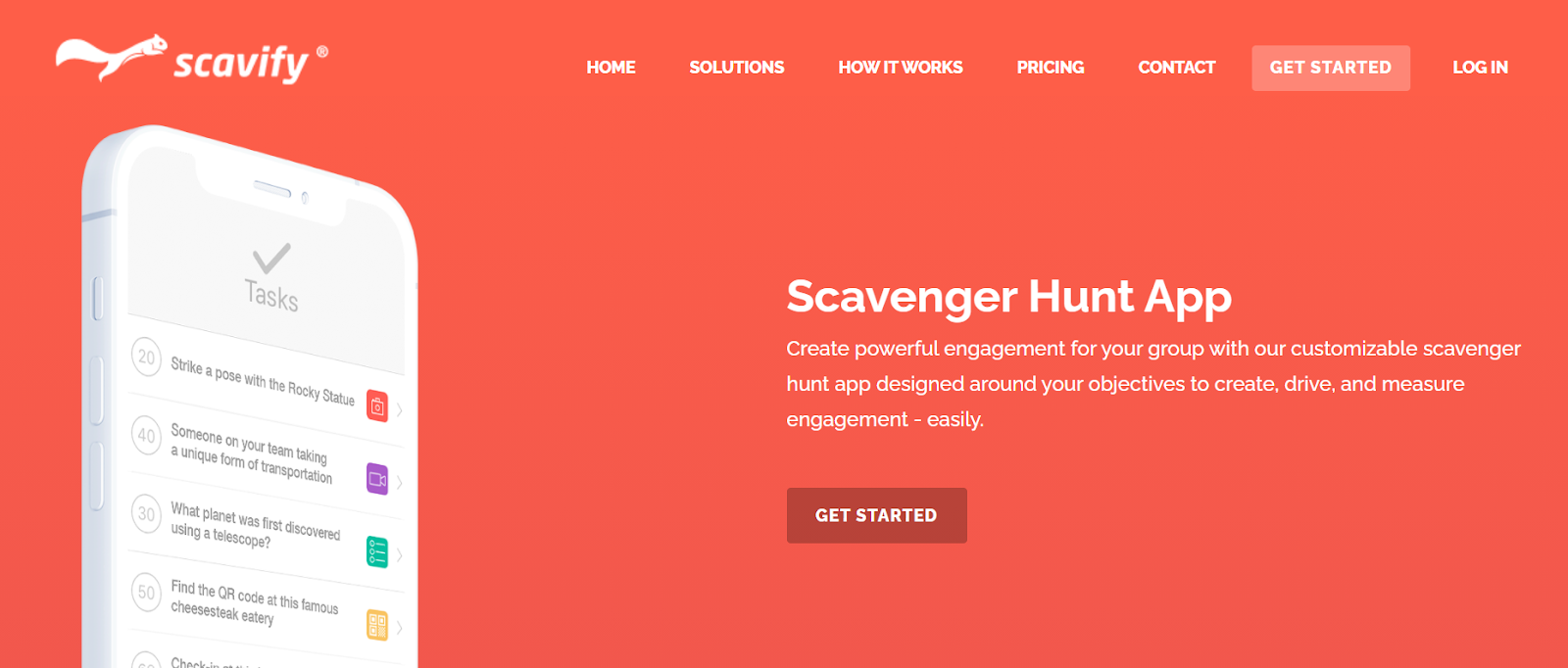 host a virtual scavenger hunt for a corporate team-building activity
