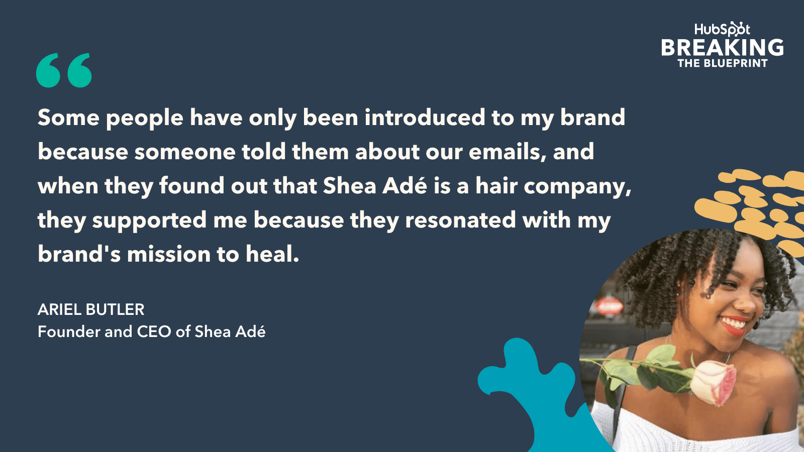 Email marketing strategy from Ariel Butler CEO of Shea Ade