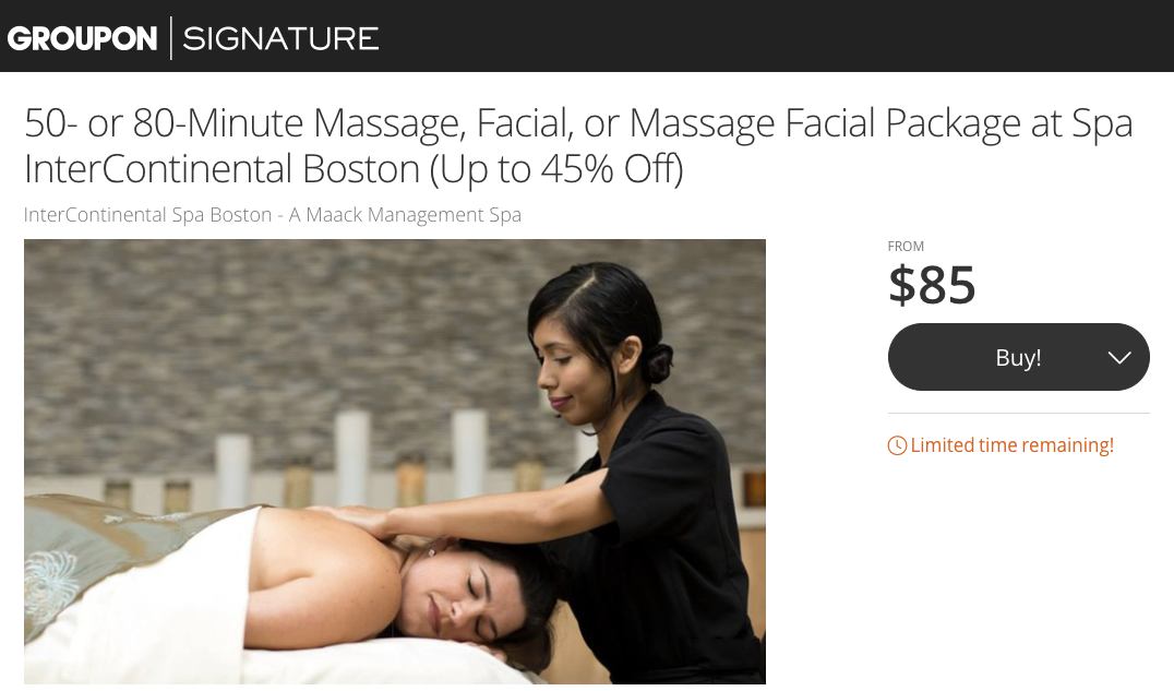 Groupon limited time offer