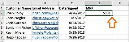 Using VLOOKUP: Populating Values